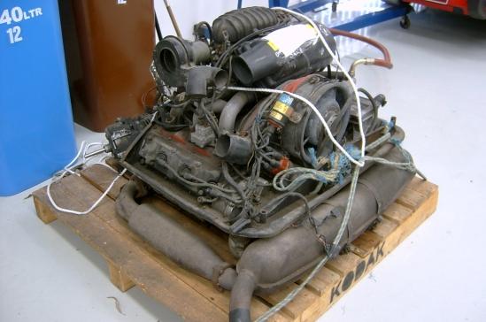 3.0ltr Carrera Engine before rebuild