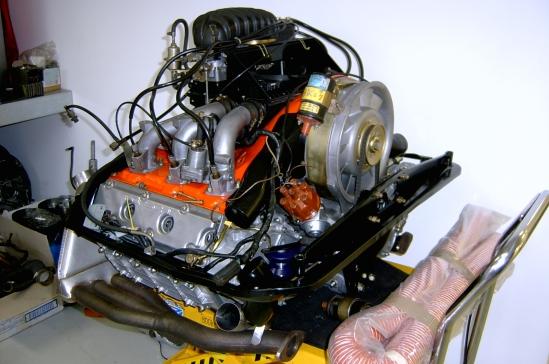 3.0ltr Carrera Engine after rebuild