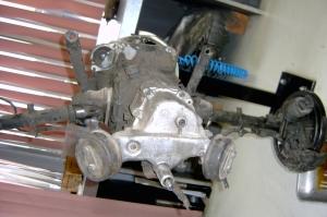 356 Gearbox before restoration